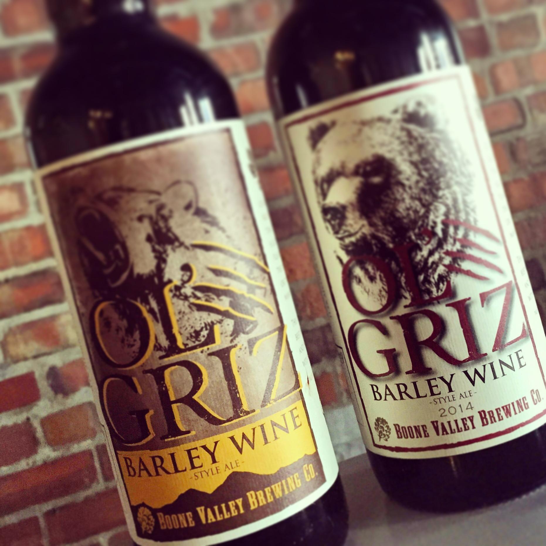 Beer 22oz bottle of 2014 Olu0027 Griz Barleywine - 11.5% ABV 22oz bottle of 2013 Olu0027 Griz Barleywine - 11.5% ABV Barleywine Style Ale thick and full bodied ... & Iowa Craft Beer Tent